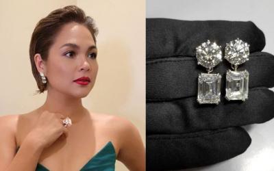 Judy Ann Santos' diamond pieces at ABS-CBN Ball 2018 worth ₱100 million