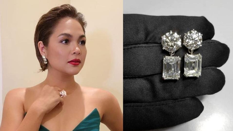 Judy Ann Santos Diamond Pieces At Abs Cbn Ball 2018 Worth 100