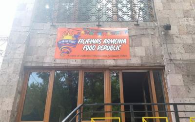 LOOK: OFWs, locals flock to first Filipino restaurant in Armenia