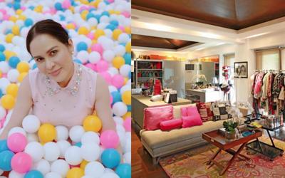 Take a look inside Jinkee Pacquiao's enormous walk-in closet