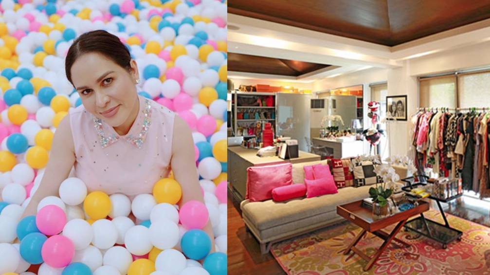Take a look inside Jinkee Pacquiao's enormous walk-in closet