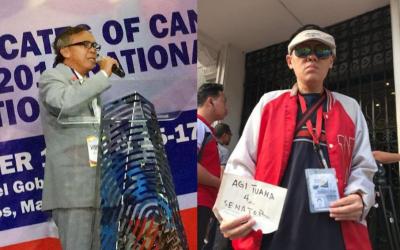 Men claiming to be Kris' husband, Mocha's ex-bf file COCs