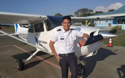 Steve Dailisan fulfills dream of becoming a pilot