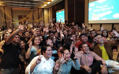 Cebu Pacific Celebrates 5th Anniversary with Fiesta-themed Party