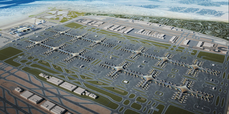 Al Maktoum International Airport bids to become world's biggest airport