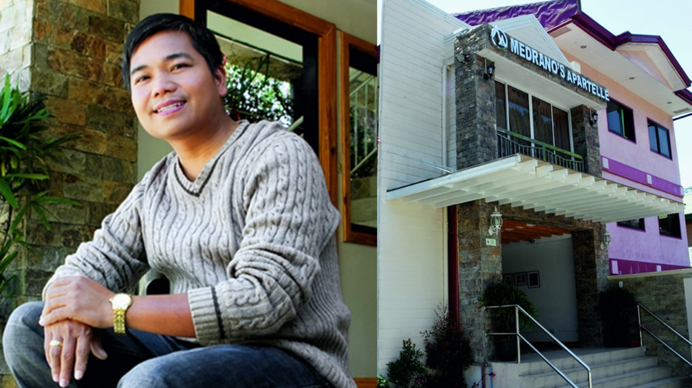 Former OFW now owns apartelle