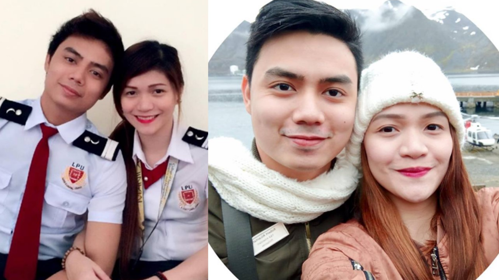 VIRAL: Couple working for cruise ship shares their love story
