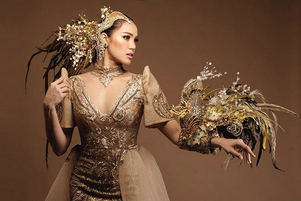 Michele Gumabao bags 2 special awards, finishes in Top 15 of Miss Globe 2018