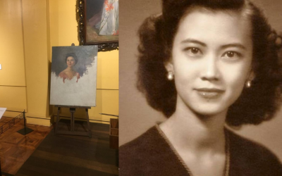 National Museum reveals woman in Amorsolo's unfinished painting