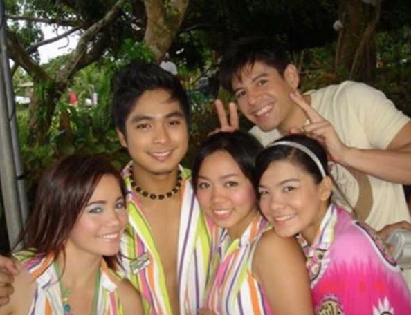 Rochelle Pangilinan posts throwback photo of TV show with Coco Martin
