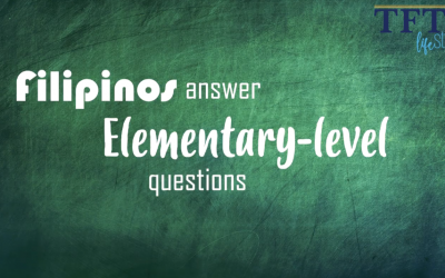 BACK TO SCHOOL: Filipino expats try answering elementary questions