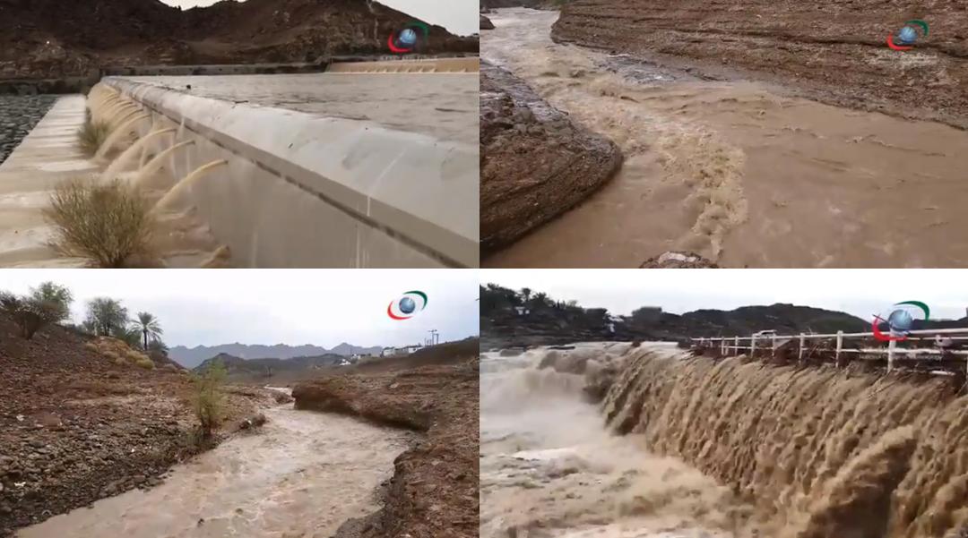 Temperature drops, heavy rain lashes parts of UAE