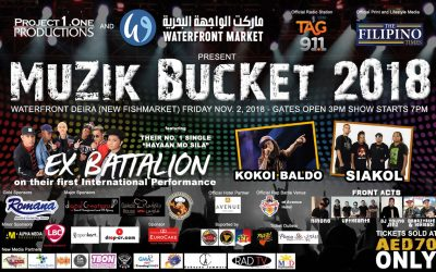 Ex Battalion, Siakol and Kokoi Baldo to headline Muzik Bucket 2018