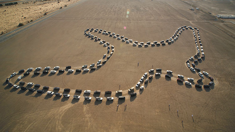 WATCH: UAE breaks Guinness World Record for largest car dance
