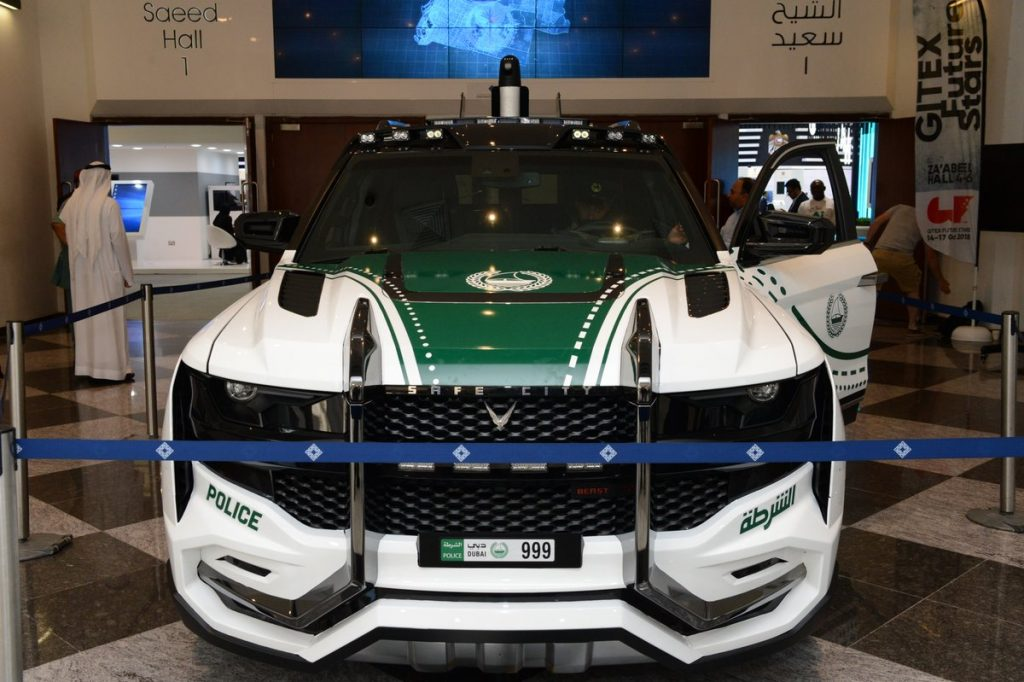 Dubai Police Launch Most Advanced Police Vehicle In The World