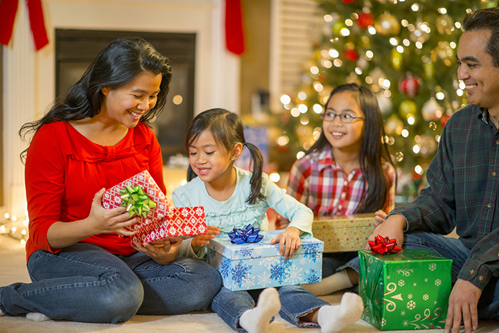 Celebrate Christmas with your family this year