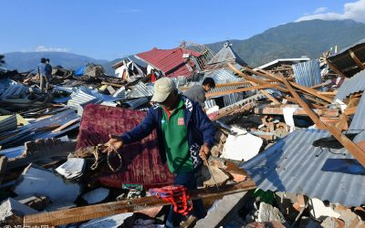 Filipino declared missing after Indonesia quake