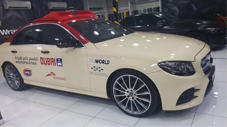 Driverless taxis to hit Dubai roads soon