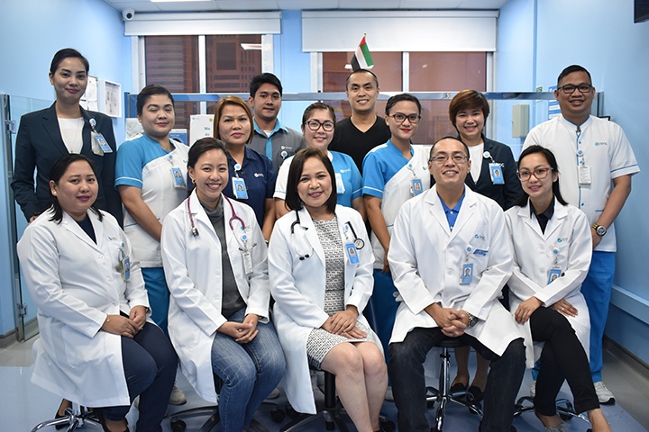 NMC Mabuhay Clinic in Abu Dhabi vows to treat people with a