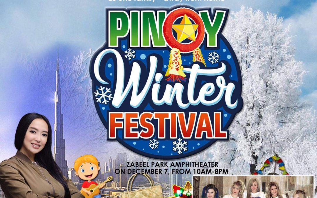 Mocha Uson to celebrate an early Christmas with Filipino expats at the Pinoy Winter Festival in Dubai