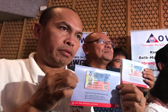 OFWs can use OWWA e-card abroad to avail of gov't services