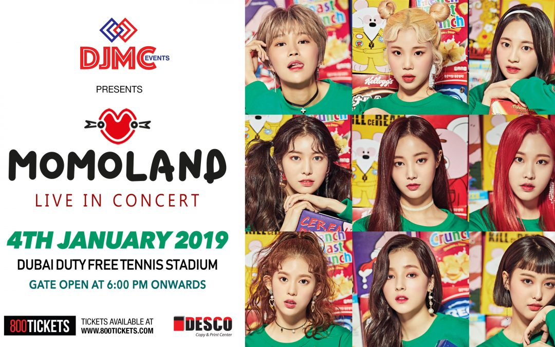 K-pop girl group Momoland to hold concert in Dubai