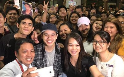 David Archuleta back in PH, performs on It's Showtime