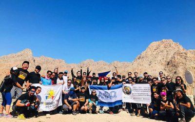 Alpha Phi Omega conquers Wadi Naqab