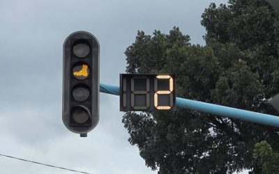 LOOK: Marikina City traffic lights feature images of shoes