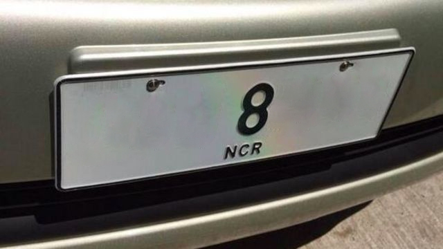 Another vehicle with No. 8 car plate seized near NAIA
