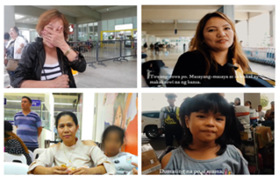 Faces of Filipino expats under UAE visa amnesty