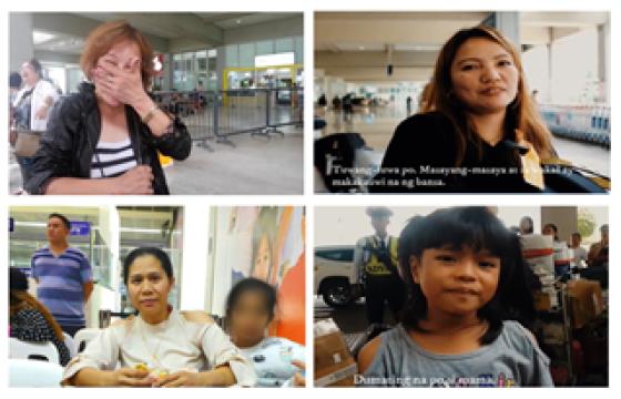 Faces of Filipino expats under UAE visa amnesty