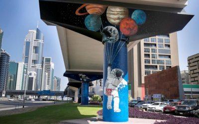 LOOK: Dubai Metro Murals Project almost complete