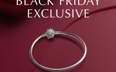 PANDORA unveils an exclusive offer for Black Friday