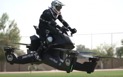 WATCH: Dubai Police start training on actual flying hoverbikes