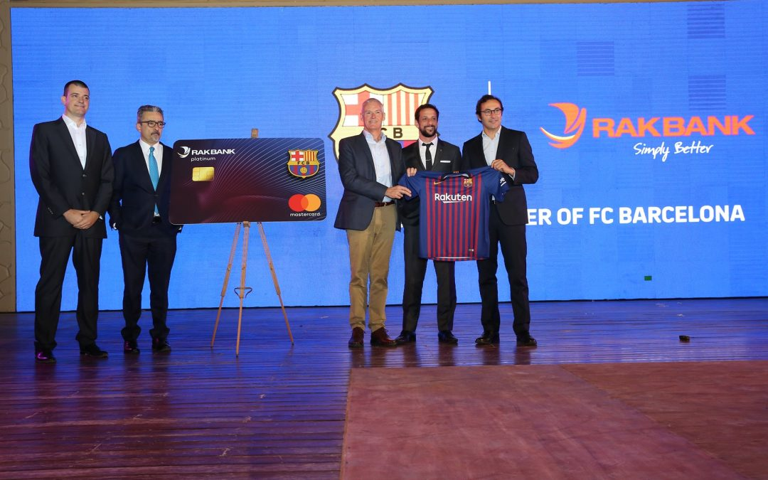 RAKBANK, FC Barcelona and Mastercard join hands to launch a new affinity Credit Card in the UAE