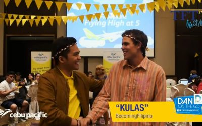 "Cebu Pacific hosts ""Homecoming Dinner"" for Kulas of ""Becoming Filipino"" for 5th Anniversary celebrations"