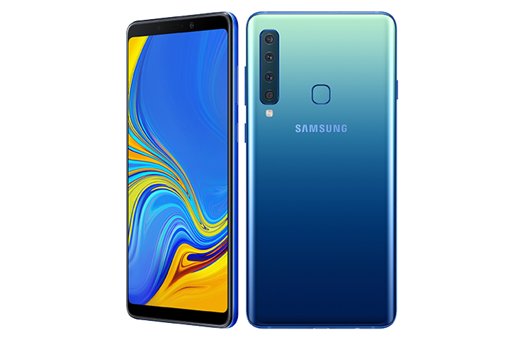 Samsung unveils first-of-its-kind quad camera Galaxy A9
