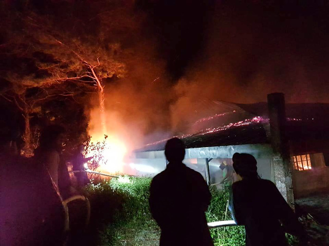 """Fire engulfs famous """"That Thing Called Tadhana"""" shooting location in Sagada"""