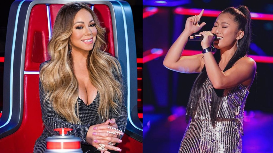 "WATCH: Filipino singer talks about meeting Mariah Carey in ""The Voice US"""