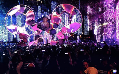 IN PHOTOS: Ayala Triangle Garden's Disney-Themed Festival Of Lights