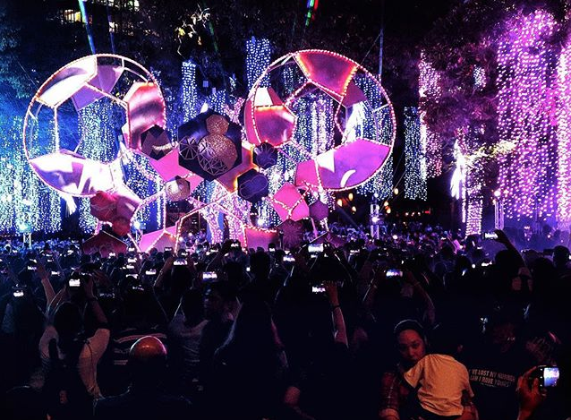 IN PHOTOS: Ayala Triangle Garden's Disney-Themed Festival Of Lights