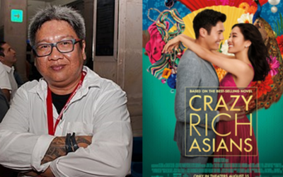 "Direk Erik Matti criticizes Hollywood film ""Crazy Rich Asians"""