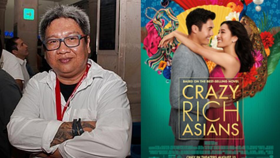 "Direk Erik Matti criticizes Hollywood film ""Crazy Rich Asians"""