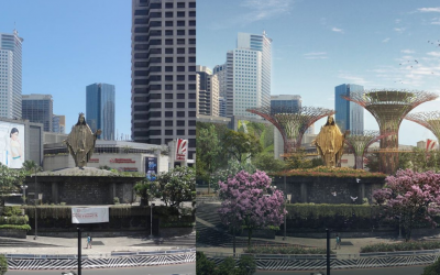 LOOK: Here's what a more environmental-friendly EDSA looks like