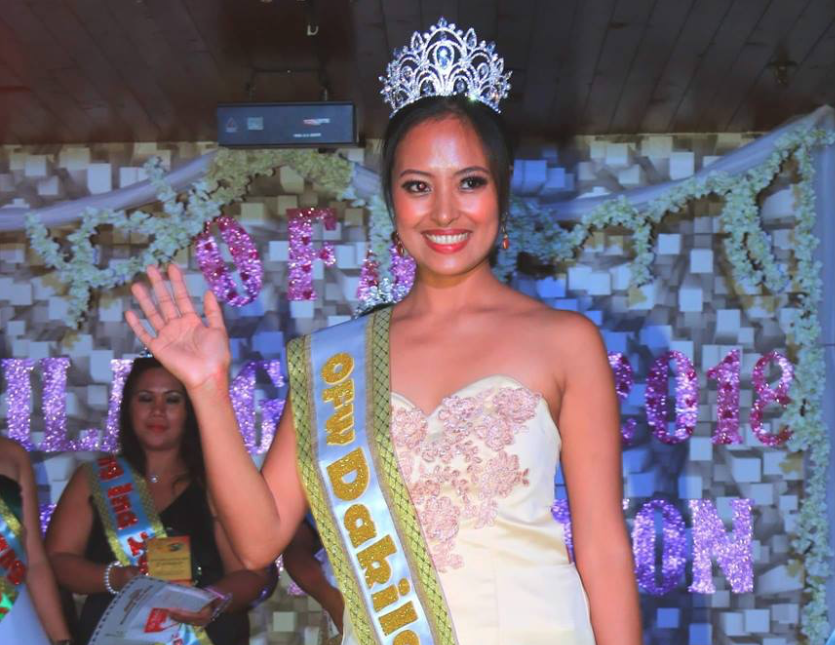 Mrs. OFW Dakilang Ina 2018  crowned