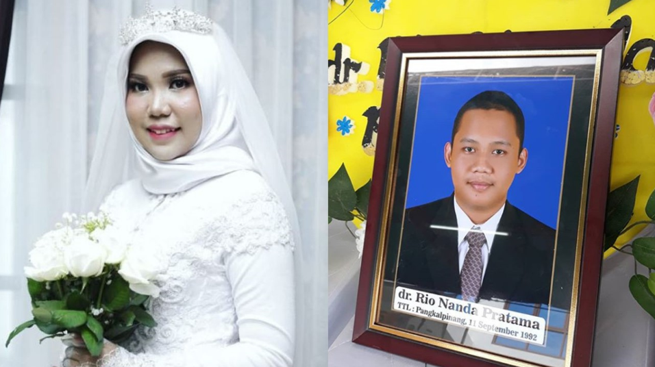 Fiancée of Lion Air crash victim takes wedding photos alone