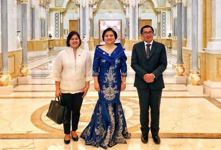 Philippine Ambassador to the UAE presents credentials to HH Sheikh Mohammed bin Rashid Al Maktoum