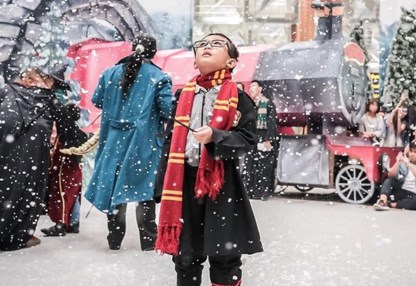 WATCH: Changi Airport transforms into 'Wizarding World' of Harry Potter