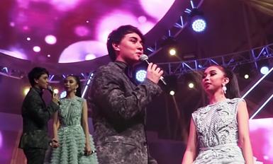Pinoys jampack MayWard gig at Global Village